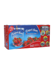 Capri Sun Strawberry Juice Drink, 10 x 200ml