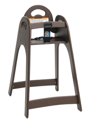 Koala Kare USA Designer High Chair, Brown