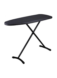 Roomwell UK Prestige Ironing Board with Iron Rest Hanger Type, 1647 TC1-28, Black