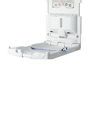 Foundations USA Classic Vertical Baby Changing Station, Light Grey
