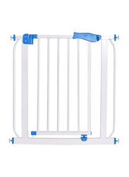 Mamamini Baby Metal Safety Gate, Extra Wide, White