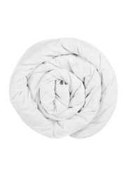 Generic All Season Micro Fabric Luxury Duvet Bedding, 220 x 240cm, White, Single Size