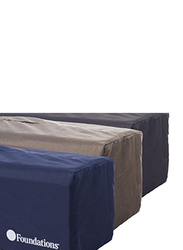 Foundations USA SnugFresh Celebrity Portable Travel Crib with Cover, Regetta, Blue