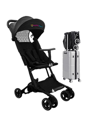 Mamamini Travelight Airport Stroller with Carrying Bag, Black