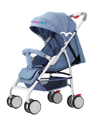 Mamamini Compact Baby Stroller, Blue