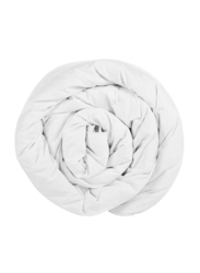 Generic All Season Poly Cotton Luxury Duvet Bedding, 220 x 240cm, White, Single Size
