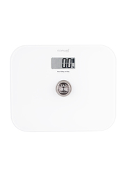 Roomwell UK Battery Free Bathroom Weighing Scale, White