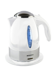 Roomwell UK 1L Retro ABS Electric Kettle, 1850-2200W, EKRE 4116, White