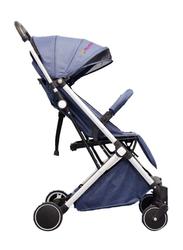 Mamamini Slim Folding Stroller, Blue