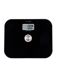 Roomwell UK Battery Free Bathroom Weighing Scale, Black