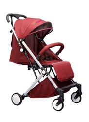 Mamamini Slim Folding Stroller, Red