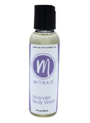 Mitra's Bath & Body Lavender Body Wash, 59ml