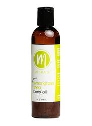 Mitra's Bath & Body Lemongrass Shea Body Oil, 118ml