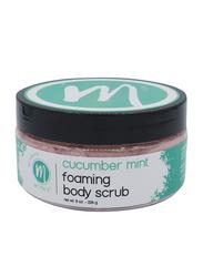 Mitra's Bath & Body Cucumber Mint Foaming Body Scrub, 226gm