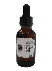 Mitra's Bath & Body Pure Organic Anti-Aging Argan Face Oil, 29.6ml