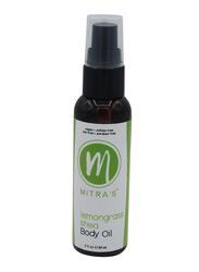 Mitra's Bath & Body Lemongrass Shea Body Oil, 59ml