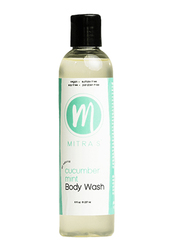 Mitra's Bath & Body Cucumber Mint Body Wash, 237ml