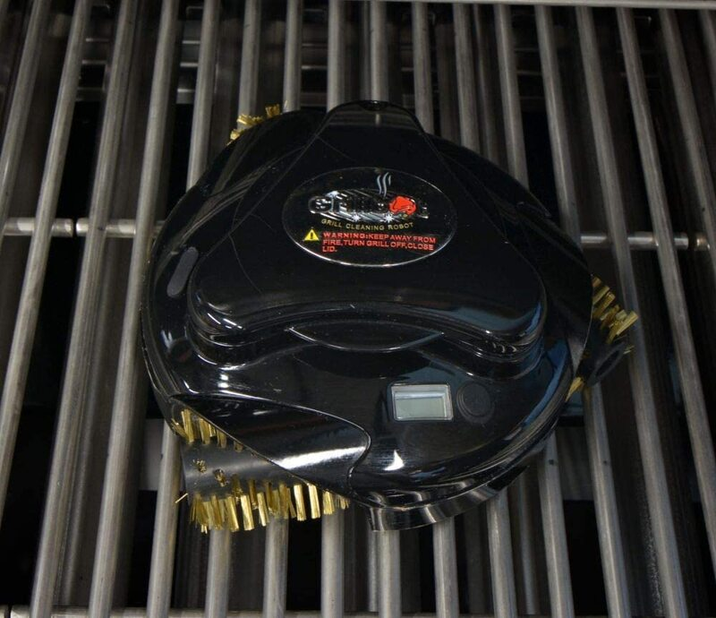 Grillbot Automatic Grill Cleaning Robot, Grillbot-82, Black