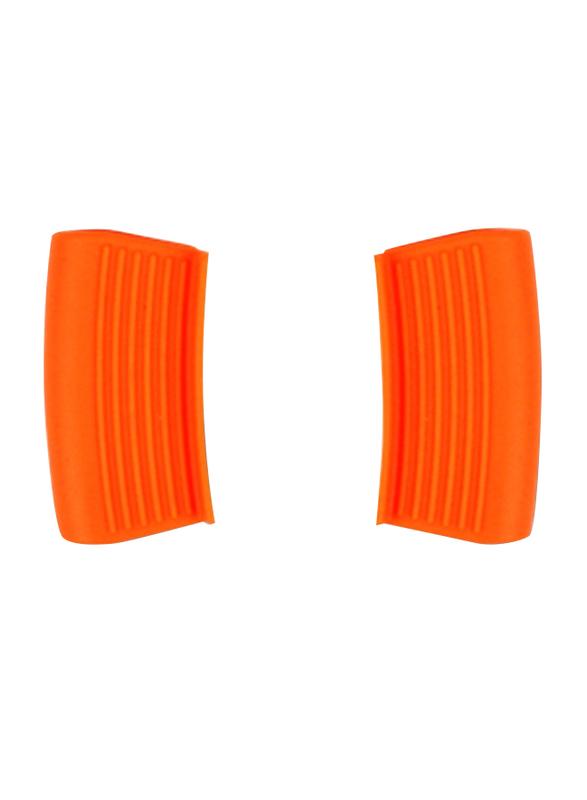 Roichen 26cm Premium Ceramic Low Casserole, 1.9 Kg, 33x27x7cm, Orange
