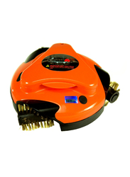 Grillbot Automatic Grill Cleaning Robot, Orange-85, Orange