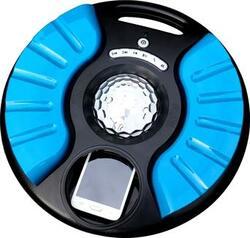 Sondpex Saturn Wireless Pool Bluetooth Waterproof Speaker with Versatile Lighting, Blue