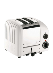 Dualit 2-Slice Toaster, 1200W, D2BMHA-GB, Silver