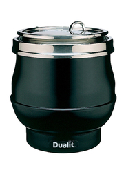 Dualit 11L Electric Stainless Steel Hotpot Soup Kettle, 850W, DSKH-GB, Black