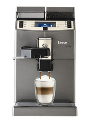 Saeco Lirika One Touch Cappuccino Coffee Machine, 1850W, 10004768, Black/Silver