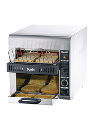 Dualit 2-Slice Conveyor Toaster, 3800W, DCT2T, Silver/Black