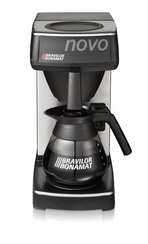 Bravilor Bonamat Novo 2 Coffee Brewer, 2130W, 8.733.401.210, Silver/Grey