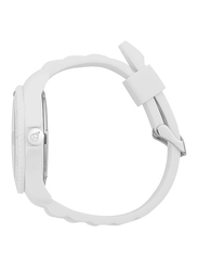 Ice Watch Analog Watch Unisex with Silicone Band, Water Resistant, SIWEBBS11, White