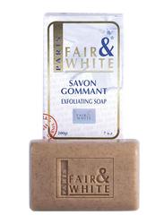 Fair & White Savon Gommant Exfoliating Soap, Brown, 200gm