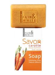 Fair & White Savon Carrot Exfoliating Soap, Orange, 200gm