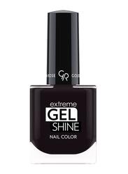 Golden Rose Extreme Gel Shine Nail Lacque, No. 74, Black
