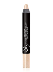 Golden Rose Glitter Waterproof Eyeshadow Crayon, No. 57, Beige