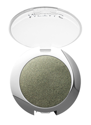 Golden Rose Metals Metallic Eyeshadow, No. 08 Khaki, Green