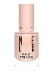 Golden Rose Nude Look Perfect Nail Color, No. 01 Powder Nude, Beige