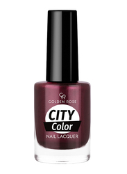Golden Rose City Color Nail Lacquer, No. 56, Red