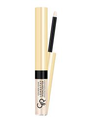 Golden Rose Long Stay Highlighter Shimmer Eyeshadow, No. 02, Beige