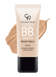 Golden Rose BB Cream Beauty Balm, 05 Medium Plus, Beige