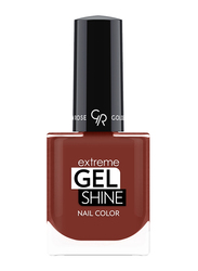 Golden Rose Extreme Gel Shine Nail Lacque, No. 53, Brown