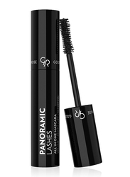 Golden Rose Panoramic Lashes Volume Length Lift All In One Mascara, Black