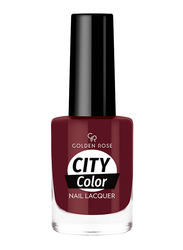 Golden Rose City Color Nail Lacquer, No. 48, Red