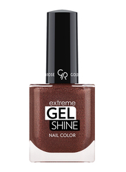 Golden Rose Extreme Gel Shine Nail Lacque, No. 43, Brown