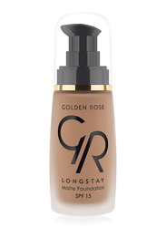 Golden Rose Longstay Liquid Matte Foundation, No. 14, Brown