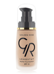 Golden Rose Longstay Liquid Matte Foundation, No. 11, Brown