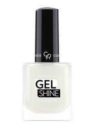 Golden Rose Extreme Gel Shine Nail Lacque, No. 01, White