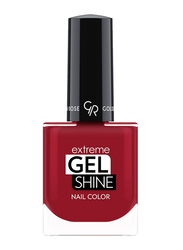 Golden Rose Extreme Gel Shine Nail Lacque, No. 61, Red