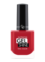 Golden Rose Extreme Gel Shine Nail Lacque, No. 60, Red
