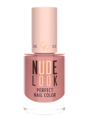 Golden Rose Nude Look Perfect Nail Color, No. 04 Coral Nude, Beige